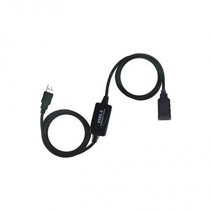 کابل افزایشی 10 متری طول USB 2.0 اکتیو فرانت