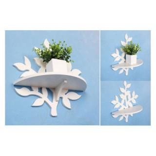 شلف گلدان دیواری کوچک برگ