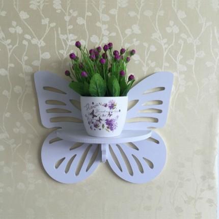شلف گلدان پروانه ساده