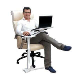 میز حرفه ای لپ تاپ فن دار ایستاده