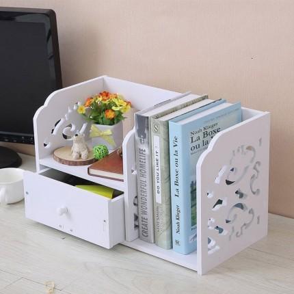 شلف قفسه رومیزی کتاب کشودار