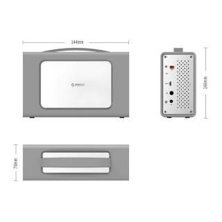 باکس هارد آلومینیومی RS200RC3 ORICO USB 3.1