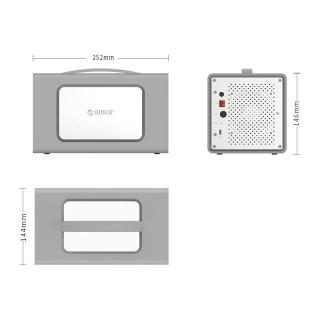 باکس هارد رومیزی RS400RC3 ORICO USB 3.1