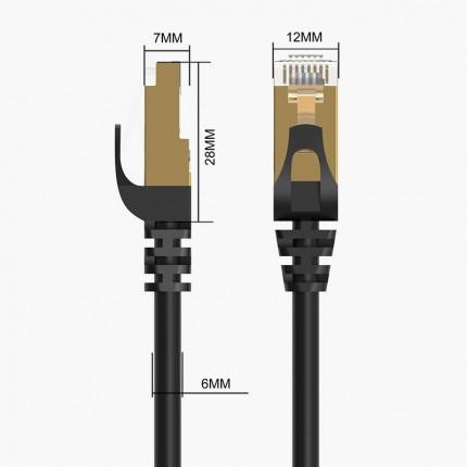 کابل شبکه سوکت فلزی CAT7 PUG-C7 ORICO