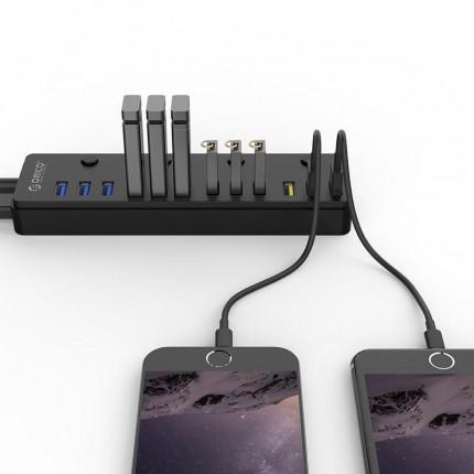 هاب USB 3.0 اوریکو P12-U3