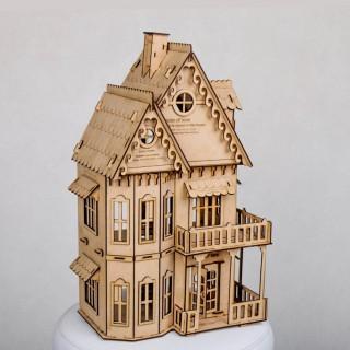 خانه چوبی دکوری