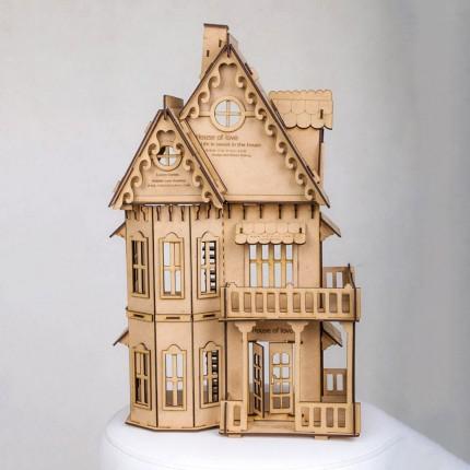 خانه چوبی دکوری عشق
