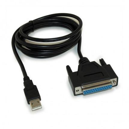 تبدیل پارالل DB25 به USB فرانت