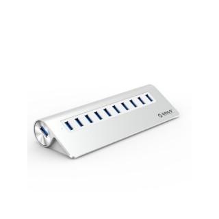 هاب 10 پورت USB 3.0 آلومینیومی ORICO M3H10