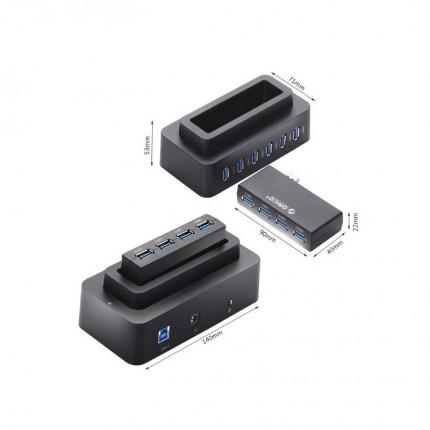 هاب 2 کاره H10D6-U3 USB 3.0 ORICO
