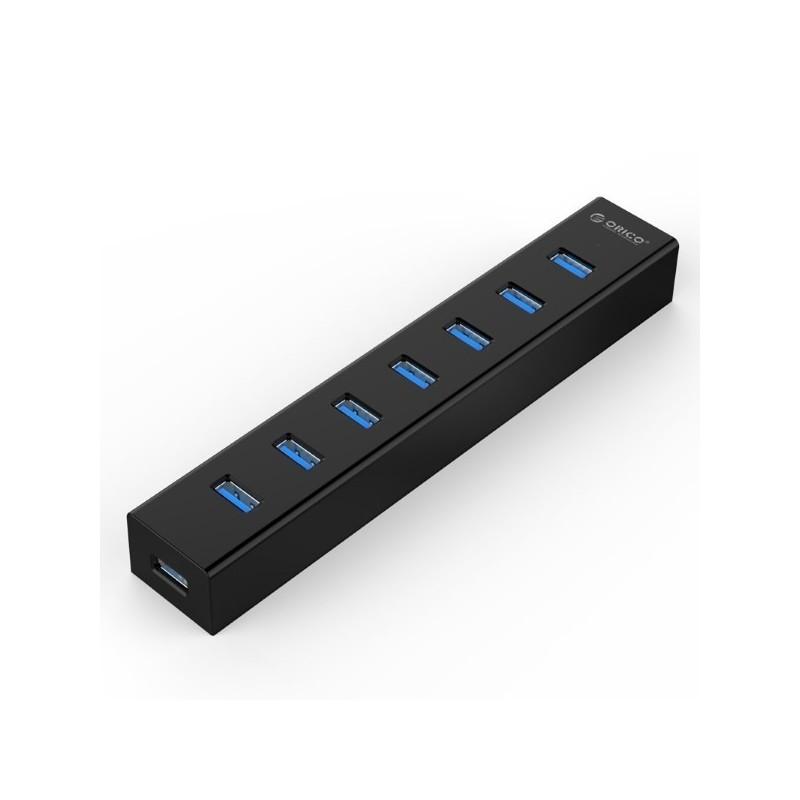 هاب USB3.0 آداپتور دار 7 پورت ORICO H7013-U3