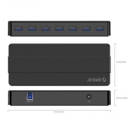 هاب USB 3.0 اوریکو 7 پورت H7928-U3-V1