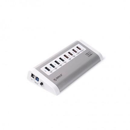 هاب USB 3.0 و شارژر رومیزی اوریکو UH4C4