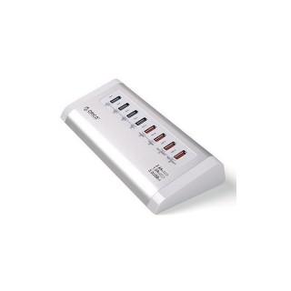 شارژر و هاب USB3 اوریکو UH4C4 آلومینیومی