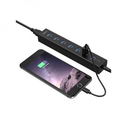 هاب آداپتور دار 7 پورت H7013-U3 USB 3.0 ORICO