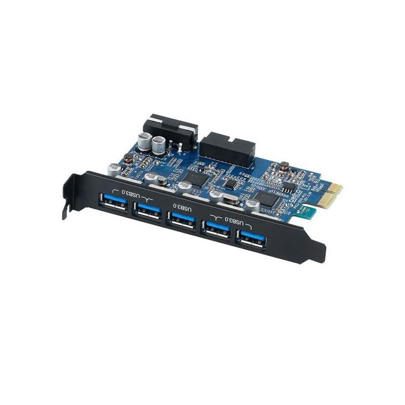 کارت USB3.0 PCI Express PVU3-5O2I