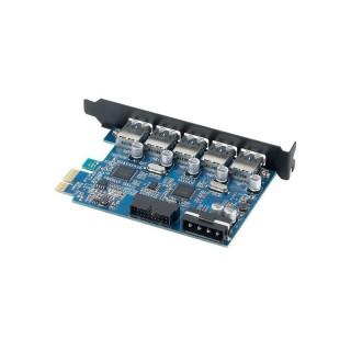 کارت USB 3.0 PCI Express PVU3-5O2I