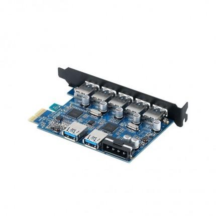 کارت USB 3.0 PVU3-5O2U PCI Express