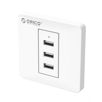 پریز USB توکار دیواری ECA-3U ORICO