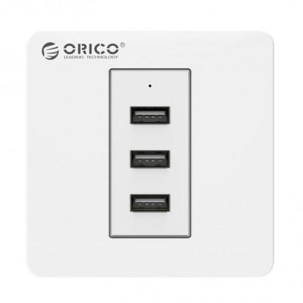 پریز شارژر USB ECA-3U ORICO
