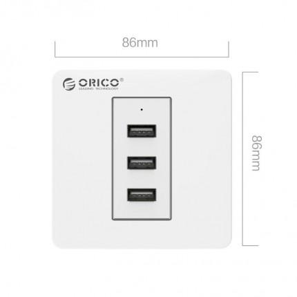 پریز USB توکار ECA-3U ORICO