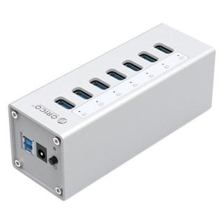 هاب USB 3.0 فلزی 7 پورت A3H7 ORICO