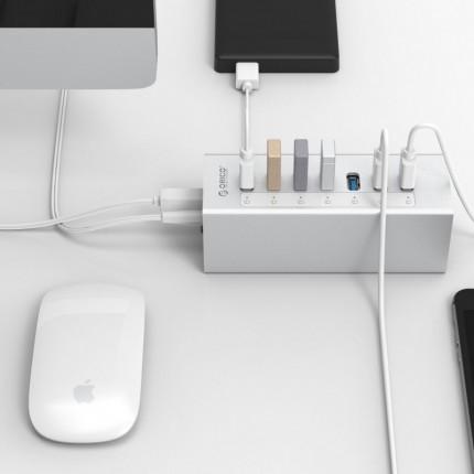 هاب USB3.0 فلزی 7 پورت A3H7 ORICO