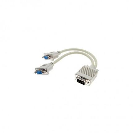کابل تبدیل 1 به 2 VGA