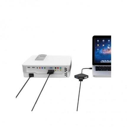 تبدیل Thunderbolt به VGA/DVI/HDMI اوریکو DMP-HDV3