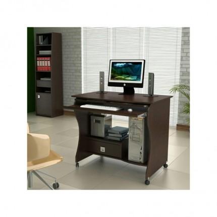 میز کامپیوتر 2006 چوبی چرخ دار
