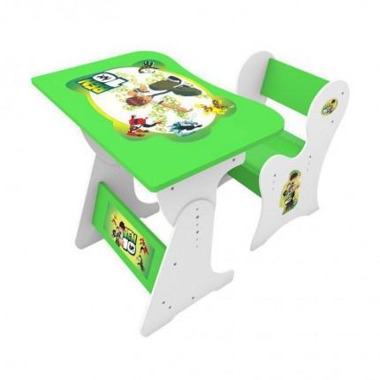 میز تحریر کودک بن تن سبز