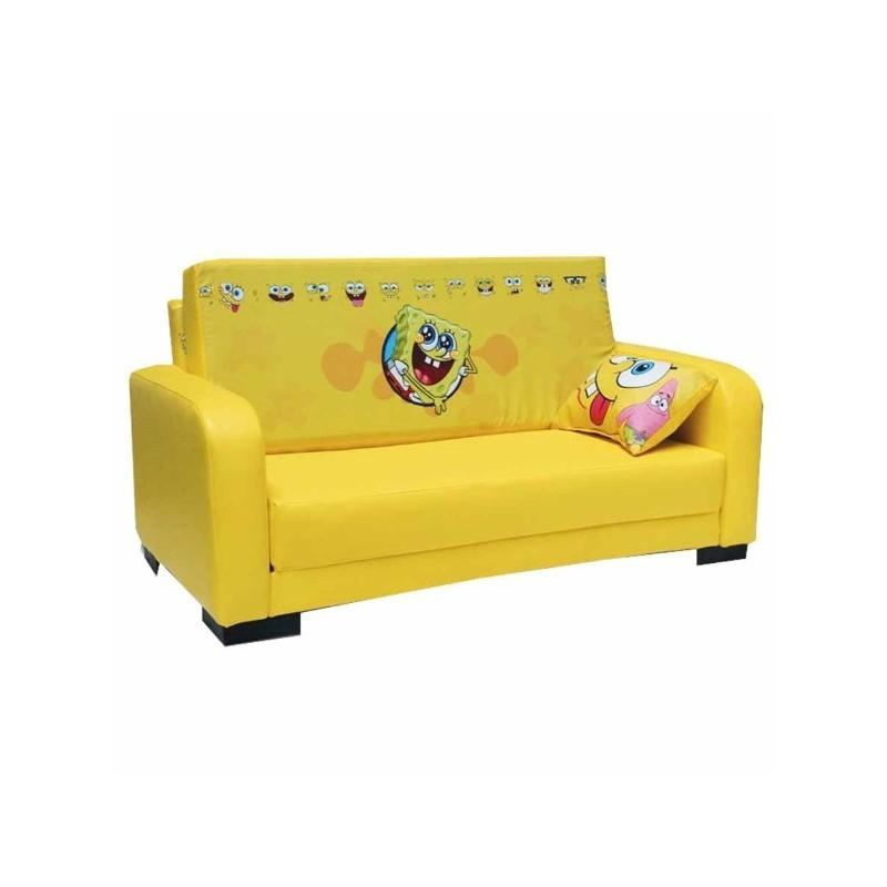 مبل تخت خواب شو کودک باب اسفنجی