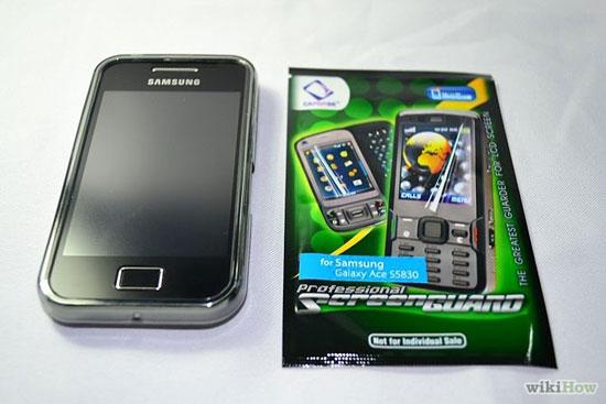 نصب اسکرین گارد موبایل