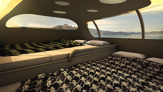 اتاق خواب ماشین