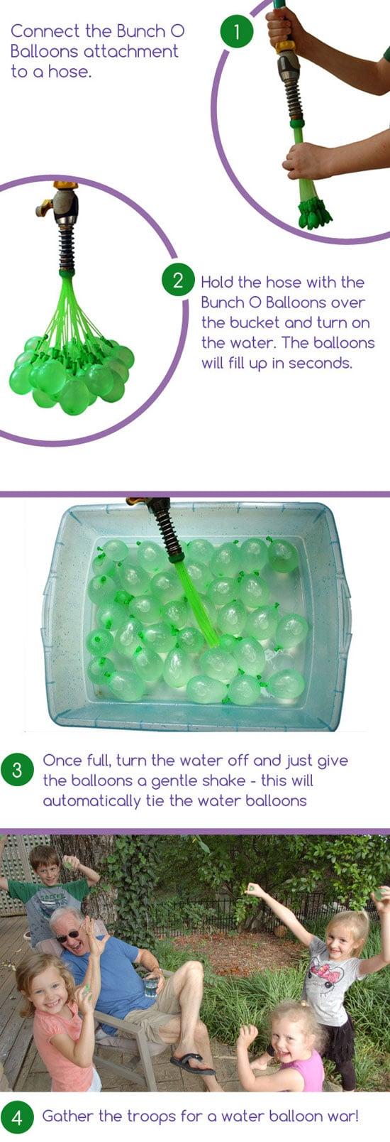 بادکنک آب بازی