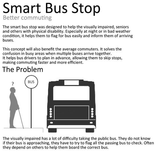 ایستگاه هوشمند اتوبوس