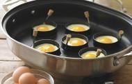 حلقهی تخم مرغ نیمرو