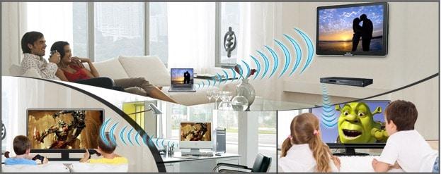 ارسال تصویر بی سیم HDMI