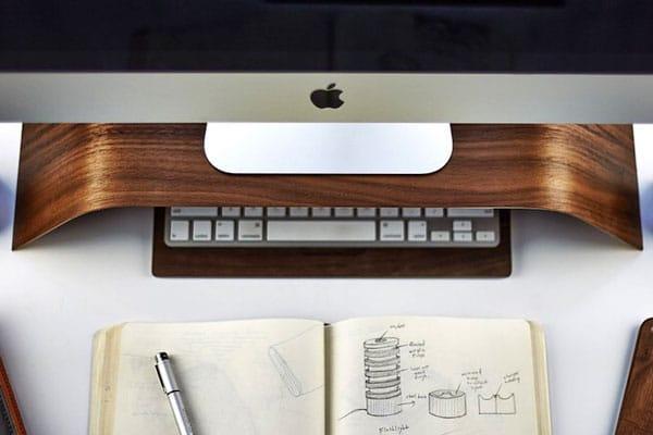 استند رومیزی کامپیوتر apple