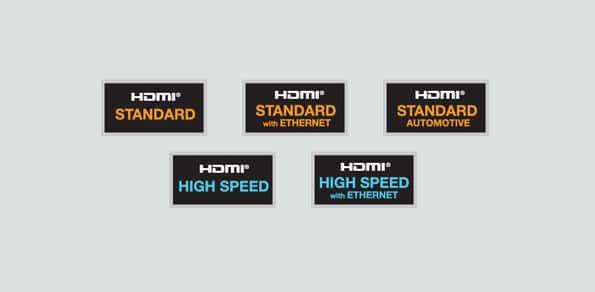استاندارد کابل HDMI