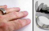 انگشتر مردانه با ابزار چند کاره