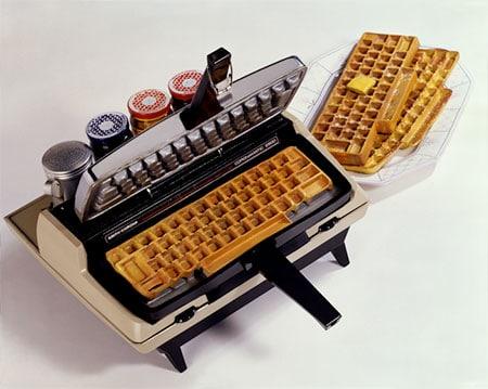 قالب کیک کیبورد کامپیوتر