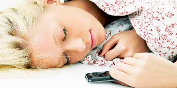 موبایل زمان خواب