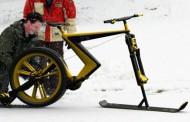 دوچرخه برفی Sno