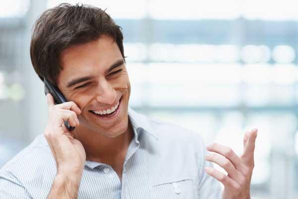مکالمه با موبایل