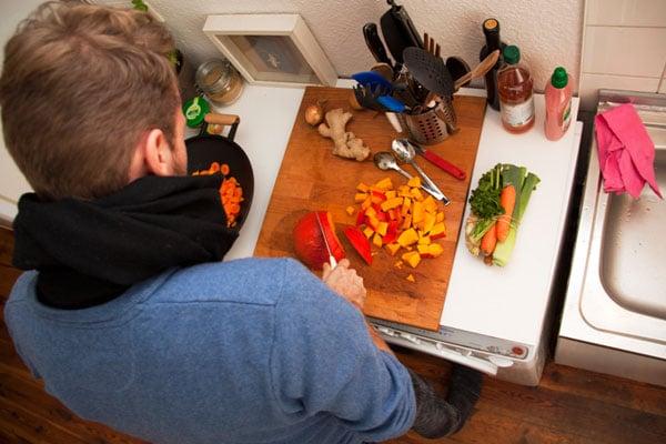 میز آشپزخانه چوبی