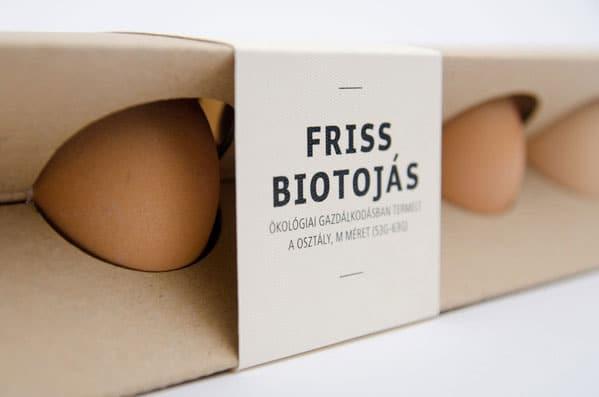 بسته بندی تخم مرغ جالب