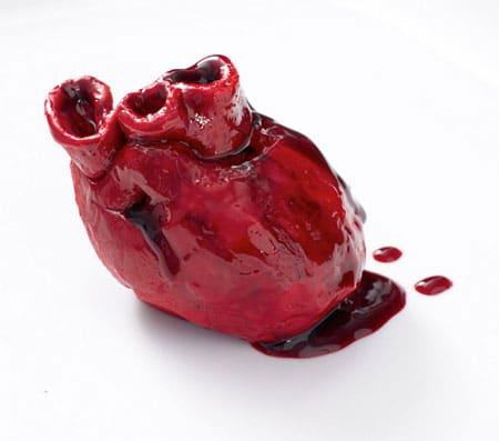 کیک قلبی ولنتاین