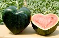 هندوانه شکل قلب