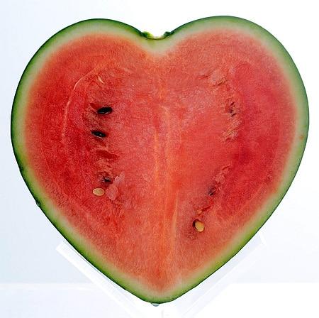 هندوانه قلبی